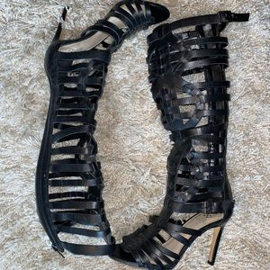 Brand new Vince Camuto Gladiator style stilletos